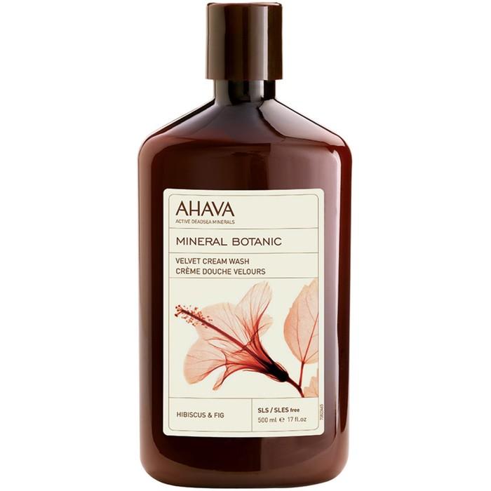 Бархатистое жидкое крем-мыло Ahava Mineral Botanic, гибискус и инжир, 500 мл