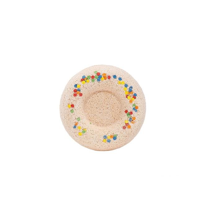 """Бурлящий шар для ванн """"Карамельный пончик"""",  60 г"""