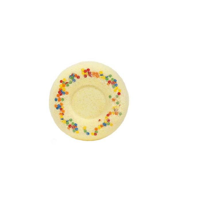 """Бурлящий шар для ванн """"Медовый пончик"""".  60 г"""
