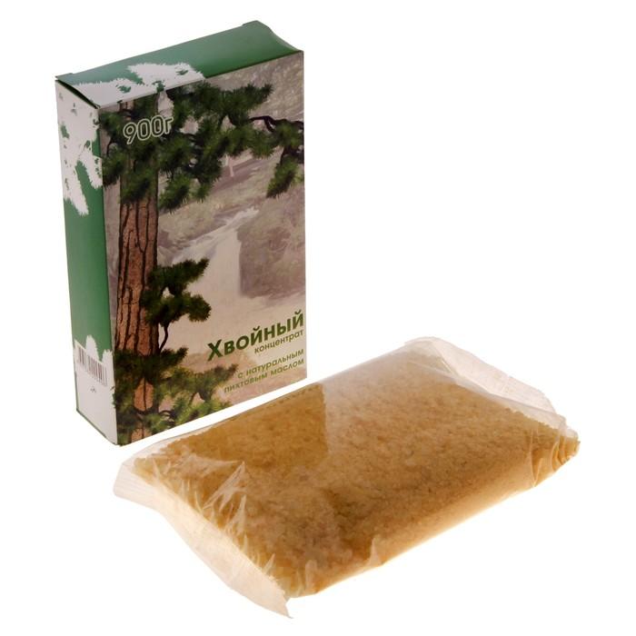 """Морская соль для ванн """"Хвойный концентрат: Пихта"""", в картонной коробке, 900 г"""