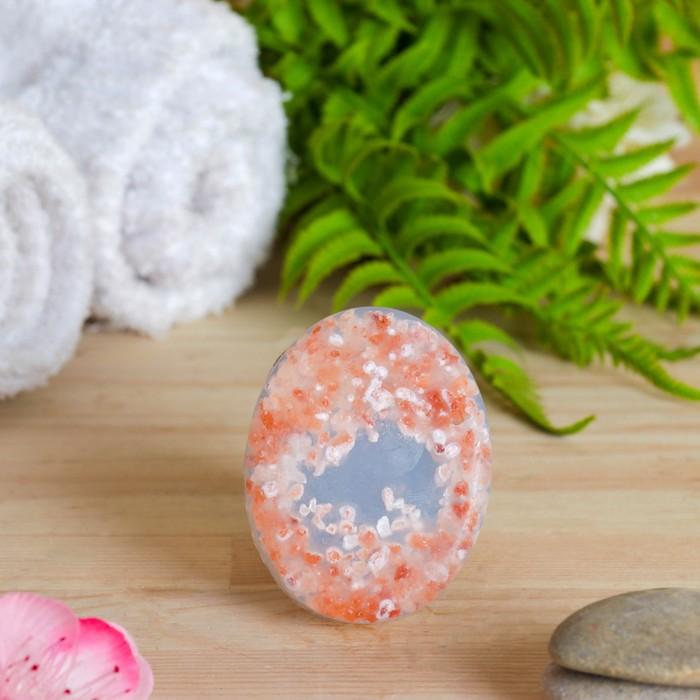 Мыло-скраб из гималайской соли с эфирным маслом апельсина, 80 г