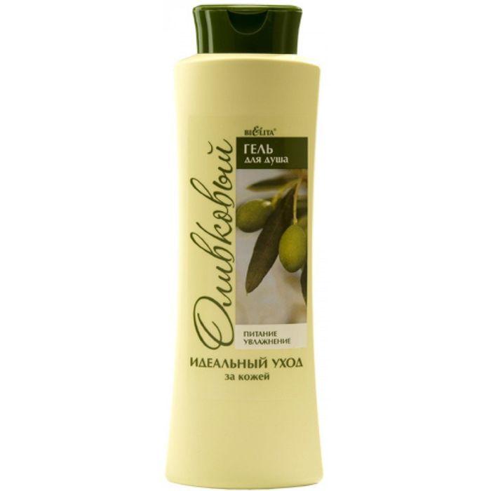 Гель для душа Bielita, оливковая, 500 мл