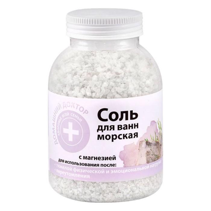 Соль для ванн Домашний доктор, с магнезией, 1000 г