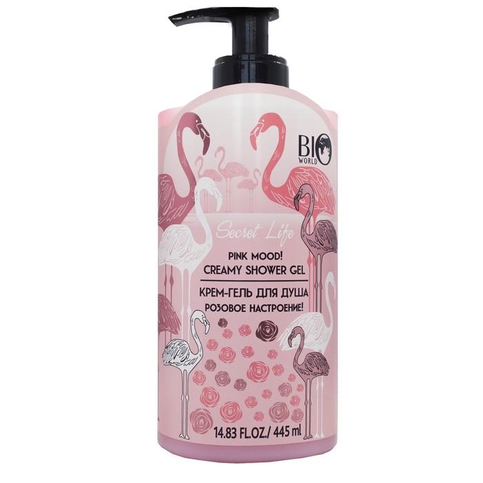 Гель-крем для душа Secret Life «Розовое настроение» чарующий аромат английской розы, 445 мл   419417