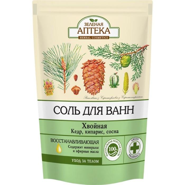 Соль для ванн Зелёная Аптека «Хвойная», 500 г