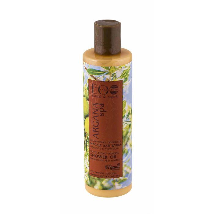 """Увлажняющее пенящееся масло для душа Ecolab Argana Spa """"Гладкость и упругость кожи"""", 250 мл"""