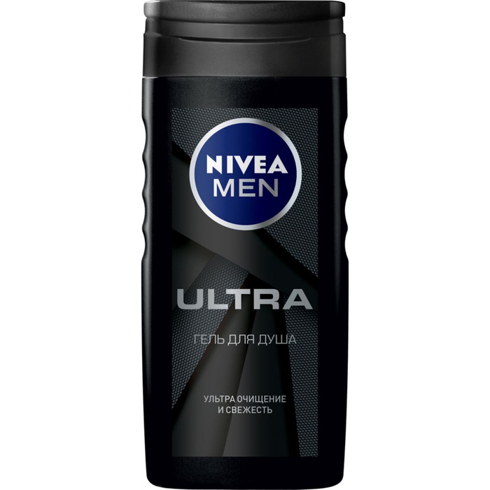 Гель для душа Nivea for Men Ultra, 250 мл