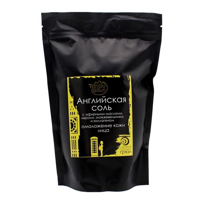 Английская соль Бизорюк «Омоложение кожи лица и тела» с коллагеном и эфирным маслом нероли,   445900