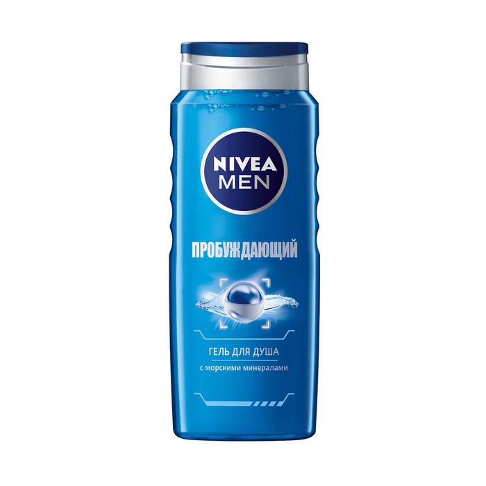 """Гель для душа Nivea Men """"Пробуждающий"""" с морскими минералами"""", 250 мл"""