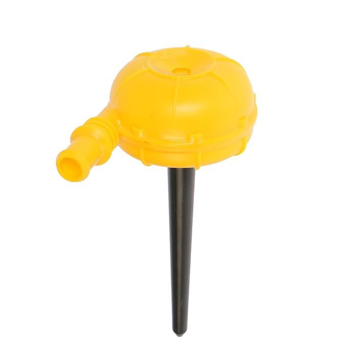 Распылитель-дождеватель, штуцер под шланг, пика, пластик, «Улитка»