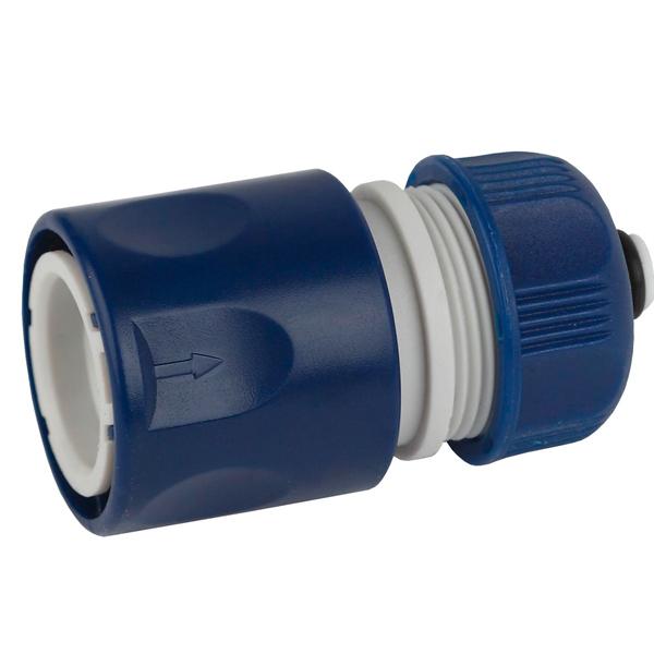 Соединитель для шланга Green Apple ЕСО GAES20-05 с аквастопом 12 мм (1/2)