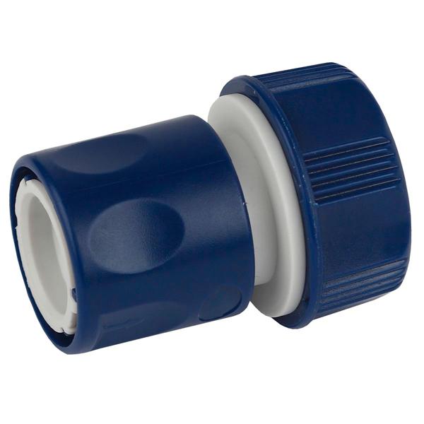 Соединитель (коннектор) для шланга Green Apple ЕСО GAES20-10 с внешней резьбой 19мм (3/4)