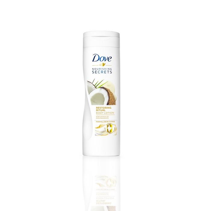 Лосьон для тела Dove с кокосовым маслом и миндальным молочком «Восстанавливающий», 250 мл