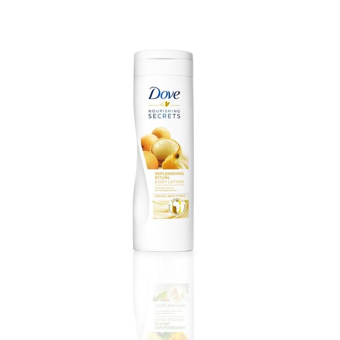 Лосьон для тела Dove с маслами манго и марулы «Обновляющий», 250 мл