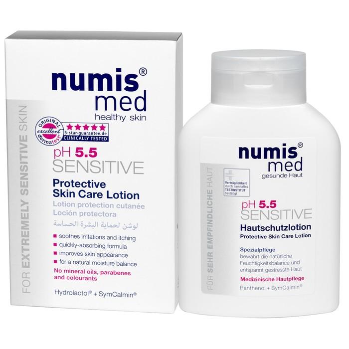 """Защитное молочко для кожи Numis Med """"Sensitive pH5,5"""", 200 мл"""