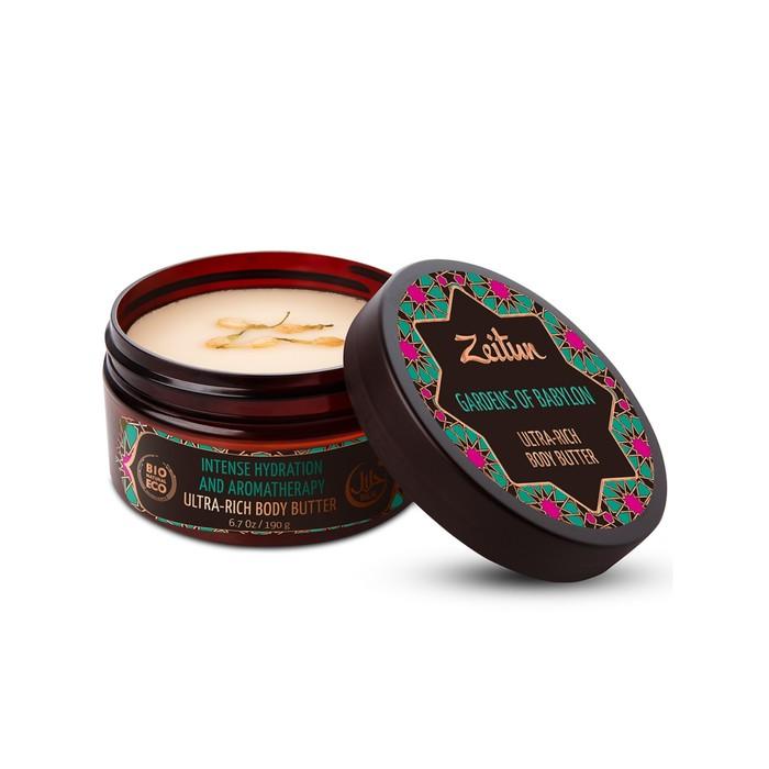 Увлажняющее крем-масло для тела Zeitun «Сады Семирамиды», 200 мл