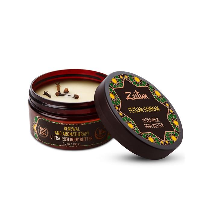 Крем-масло для тела Zeitun «Персидский хамам», детокс и обновление, 200 мл
