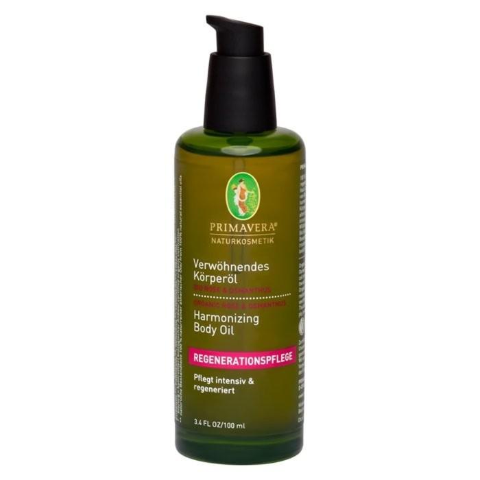 Гармонизирующее масло для тела Primavera Life Роза и османтус, 100 мл