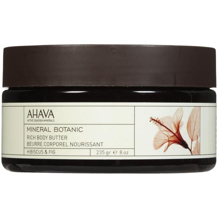 Насыщенное масло для телаAhava Mineral Botanic, гибискус и фига, 235г