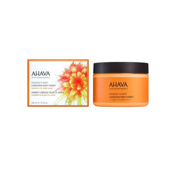 Нежный крем для тела Ahava Deadsea Plants мандарин и кедр 350 мл