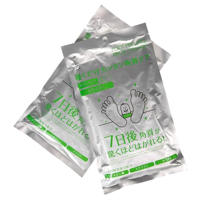 Носочки для педикюра SOSU мужские с ароматом зеленого чая, 2 пары