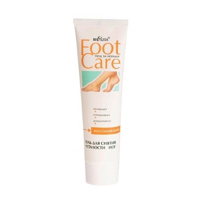 Гель Bielita foot care для снятия усталости ног, 100 мл.