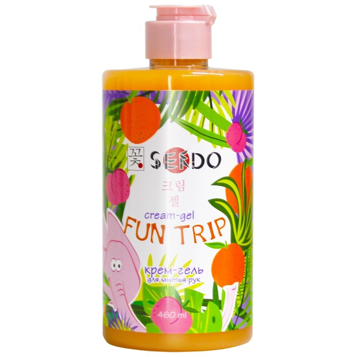 """Крем-гель для рук Sendo """"Сочные ягоды"""", 460 мл"""