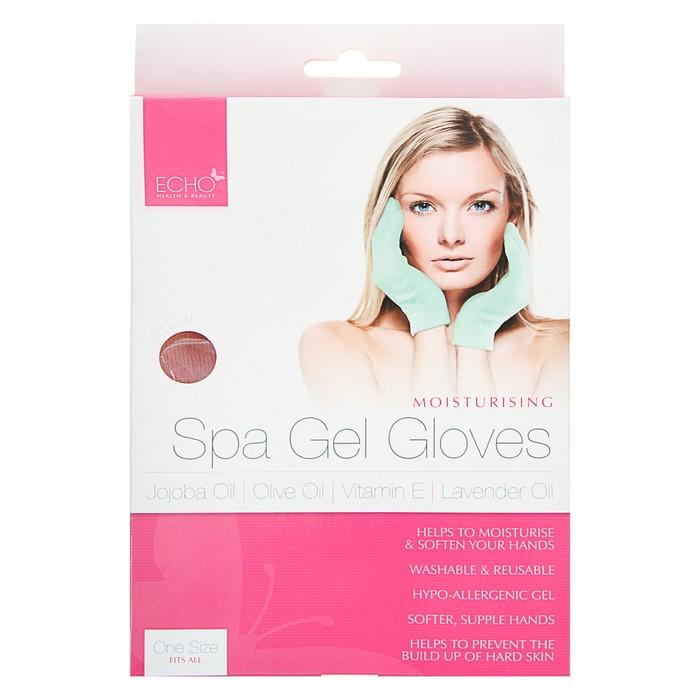 Гелевые перчатки для рук Echo увлажняющие, 1 пара