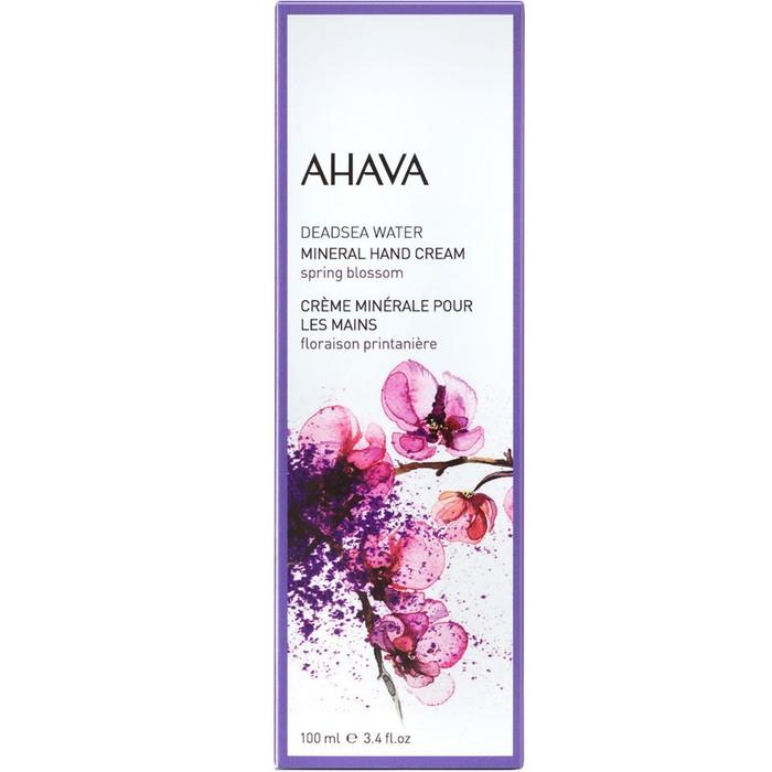 Минеральный крем для рук Ahava Deadsea Water Весенний цветок, 100 мл