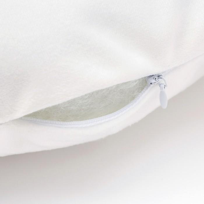 Подушка Крошка Я «Луна», 38 × 45 см, велюр, 100 % п/э