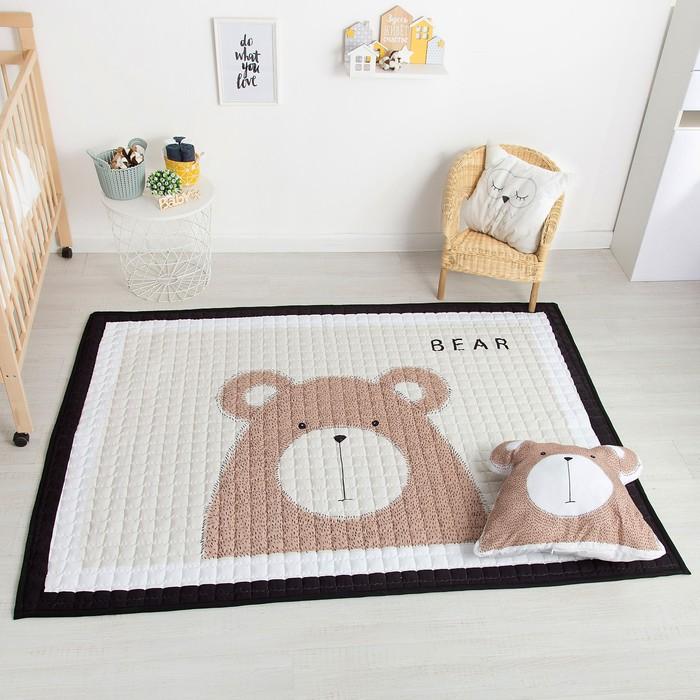 Подушка Крошка Я «Медвежонок», 43 × 39 см, п/э 100 %