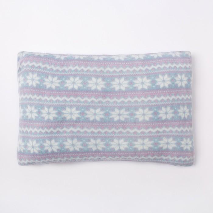 Подушка декоративная Морозное утро 30х40 см, 100% п/э