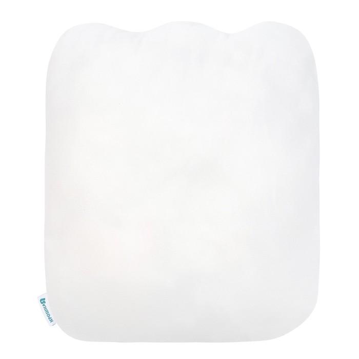 Подушка Крошка Я «Ш», 40 × 46 см, цвет синий, велюр, 100 % п/э