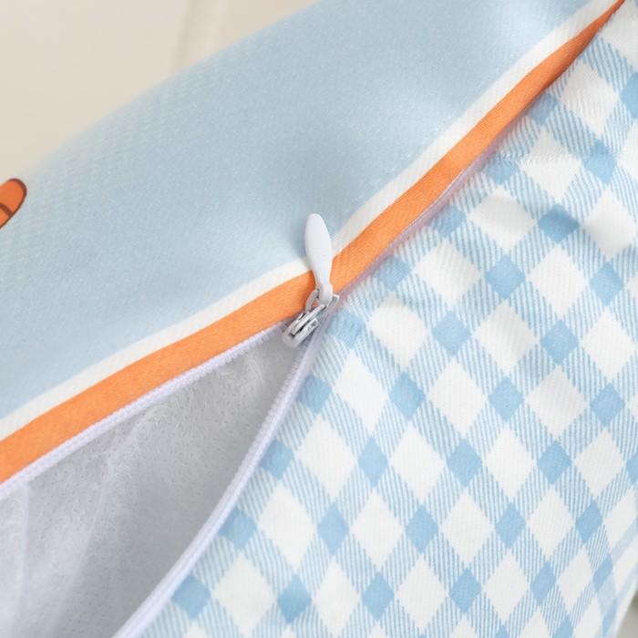 Подушка декоративная Крошка Я «Паровозик» 40×40 см, 100% п/э