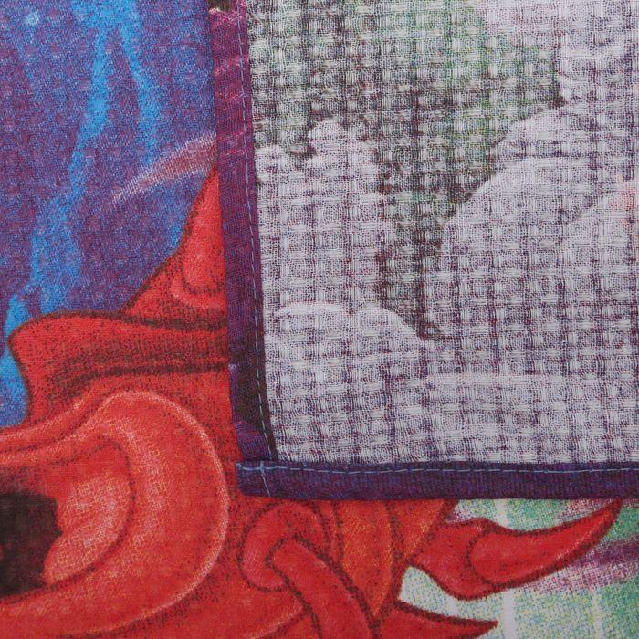 "Полотенце ""Принцессы: Ариель"" 60х140 см, 100% хлопок 160гр/м2"