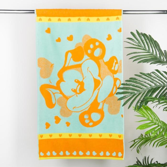 "Полотенце махровое ""Wonder"", 50х90 см, желтый, 420 г/м 2 ,100% хл. ПЛ-2602-3068"