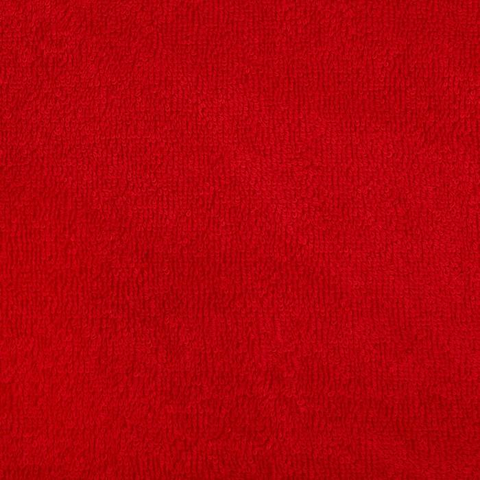 """Полотенце махровое """"Экономь и Я"""" 100х150 см бордо, 100% хлопок, 340 г/м²"""