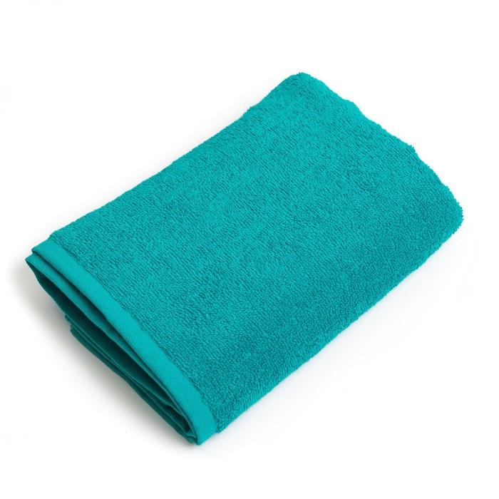 """Полотенце махровое """"Экономь и Я"""" 100х150 см светло-зеленый , 100% хлопок, 340 г/м²"""