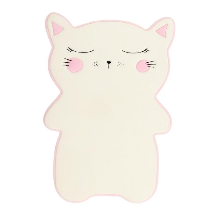 Ковёр детский «Кошка», 45 × 75 см, велюр, поролон