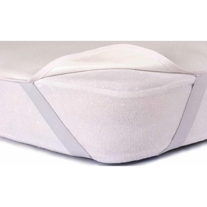 Наматрасник-простыня Flat с резинками, размер 70х195 см