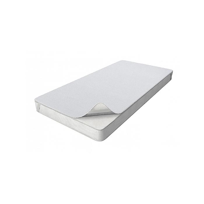 Наматрасник на резинках, размер 80 × 160 см, цвет белый