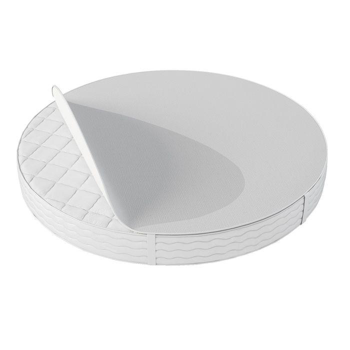 Комплект наматрасников круглый 65х65 см и овальный 65х125 см, непромокаемые