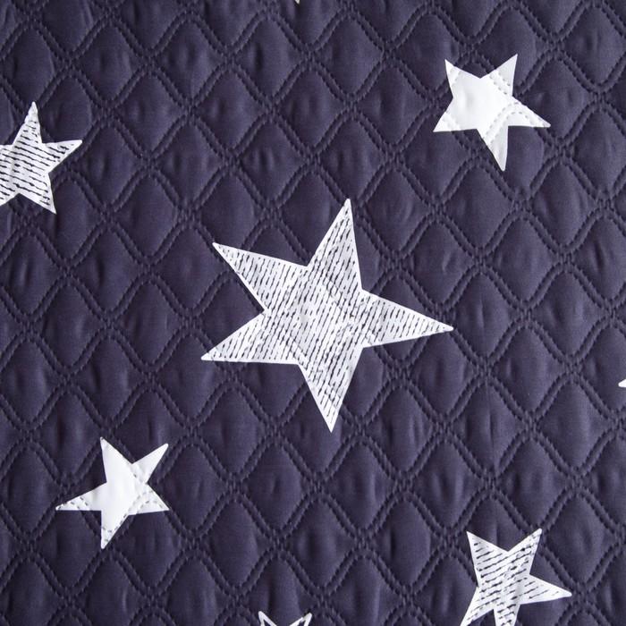 Покрывало детское Экономь и Я Ультрастеп «Звёзды» 150х210 ± 5 см, пл 205 г/м²