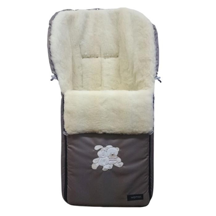 Спальный мешок в коляску Aurora, темно-бежевый