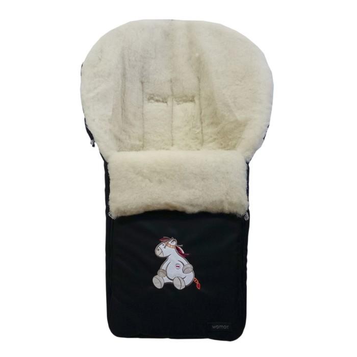 Спальный мешок в коляску Aurora, 12 чёрный
