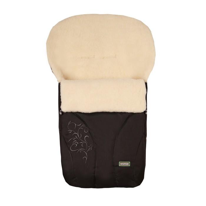 Спальный мешок в коляску Snowflake, 12 чёрный