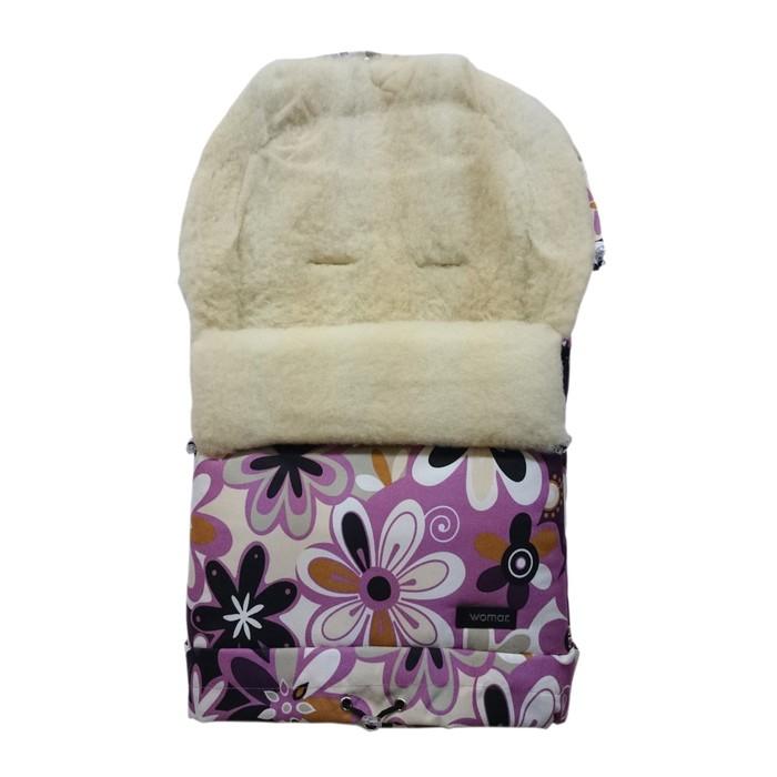 Спальный мешок в коляску Multi arctic, 17 цветки