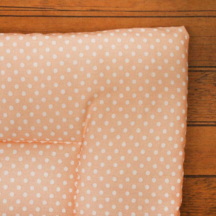 Набор для детской коляски для девочки, 2 предмета (подушка-35х38 см, матрас-69х38 см), цвет МИКС (арт. 22101-С)