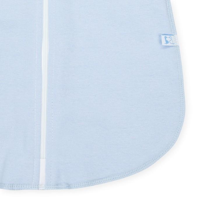 Пелёнка «Кокон», рост 62 см, цвет голубой