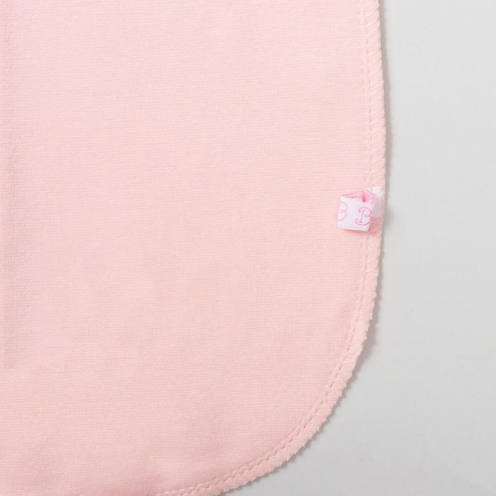 Пелёнка «Кокон», рост 74 см, цвет розовый